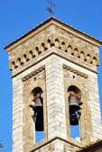 Bell tower of Barberino Val d'Elsa — Стоковое фото