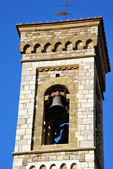 Bell tower of Barberino Val d'Elsa — Stock Photo