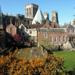 City walls of York — Stock Photo #2031276