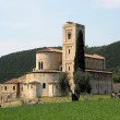 The Abbey of Sant'Antimo — Stock Photo