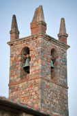 Bell tower of Monteriggioni — Stock Photo