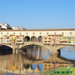 Stock Photo: Pontevecchio, Florence