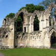Stock Photo: Ruins of NormCathedral, in York