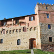 Stock Photo: Medieval Palace in Buonconvento