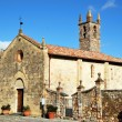 Saint Parish in Monteriggioni — Stock Photo #2334743
