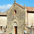 Saint Parish in Monteriggioni — Stock Photo