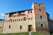 Medieval Palace in Buonconvento — Stock Photo