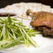 Crispy duck leg — Stock Photo #1992396