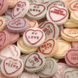 Love heart candy — Stock Photo