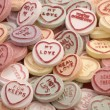 Stock Photo: Love heart candy