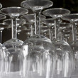 Stock Photo: Rack of Glasses