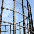 Gas tower — Stock Photo