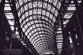 The roof of the Hay's Galleria — Stock Photo