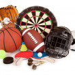 Royalty-Free Stock Photo: Sports and Games Arrangement