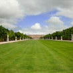 Versailles Landscape, France, No — Stock Photo