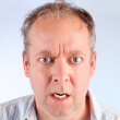 Man Angry about Something — Stock Photo