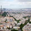 Elevated View of Paris, France — Stock Photo