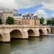 Stock Photo: Pont Neuf, Paris, France