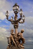 Paris, France,statues — Stock Photo