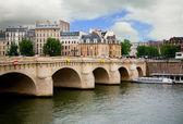 Pont neuf, París, Francia — Foto de Stock