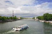 Seine River, Paris, France — Stock Photo
