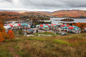 Fall Colors in Mont-Tremblant — Stock Photo