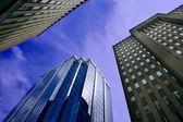 édifices à bureaux du centre-ville — Photo