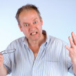 Man Angry about Something — Stock Photo #2261942