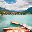 Rowboats on Lake Brienz — Stock Photo #2270656