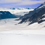 Aletsch glacier Suisse — Photo