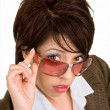 Looking Over Sunglasses — Stock Photo #2372123