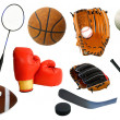 Various Sports Items — Stock Photo