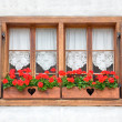 Stock Photo: Old European Wooden Windows