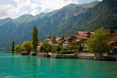 Brienz, Berne, Switzerland — Stock Photo