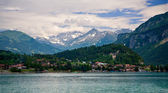 Brienz, Berne, Switzerland — Stock Photo