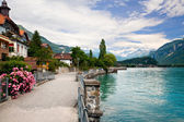 Lake in Brienz, Berne, Switzerlan — Stock Photo