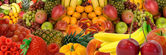 Fruit Panorama — Stock Photo