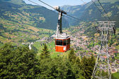 Cable Car in Grindelwald, Switzerland — Stock Photo