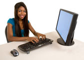 African American Businesswoman — Stock Photo