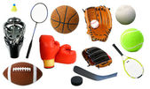 Various Sports Items — ストック写真