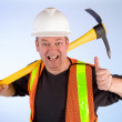 Happy Construction Worker — Stock Photo #2387761