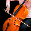 Playing the Cello — Stock Photo #2393762