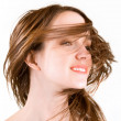 Hair in Swirling Wind — Stok Fotoğraf #2394337