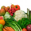 Stock Photo: Fruits and Veggies
