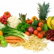 Stock Photo: Veggies and Fruits