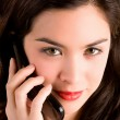 Beautiful Woman Using her Cell Phone — Stock Photo #2394526