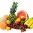 Vibrant Tropical Fruits — Stock Photo
