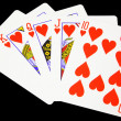 Royalty-Free Stock Photo: Royal Flush