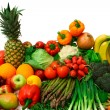 Vegetables and Fruits Arrangement — Stock Photo