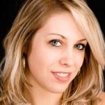 Beautiful Blonde Girl Portrait — Stock Photo